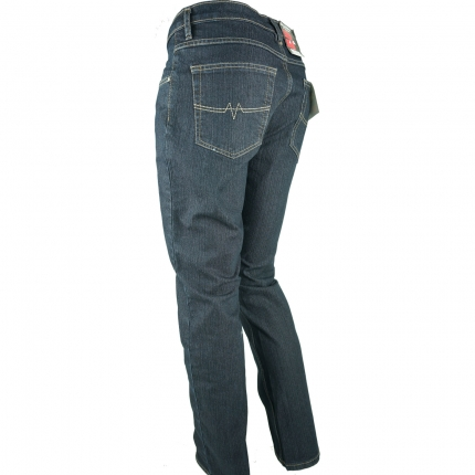 Oklahoma Matrix R-140 Herren Stretch-Jeans Dunkelblau