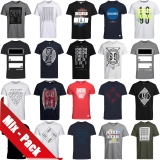 Jack & Jones T-Shirt Mix Pack 3er