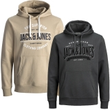 Jack & Jones Herren Kapuzenpullover 2er Pack Hoodie Sweat @15