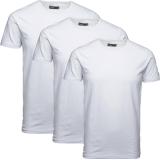 Jack & Jones 3er Pack BASIC O-NECK T-Shirt s Weiß